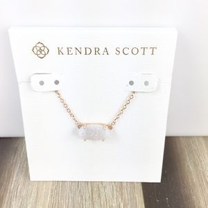 Kendra Scott Ever iridescent drusy necklace